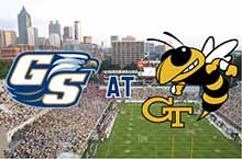 Georgia Southern vs. Georgia Tech